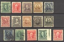 U.S. #300/480 Mint / Used - 1902-17 1c - $5 Portraits ($606)
