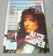 Magazine/Vintage Metal Forces December 1989 #45 W/Joe Perry/Aerosmith Poster UK
