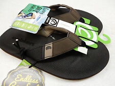 COBIAN MENS SANDALS BEACON CHOCOLATE SIZE 8