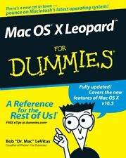 Mac OS X Leopard For Dummies-Bob LeVitus
