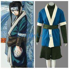 Naruto Anime Haku Cosplay Costume Halloween Cos Clothes