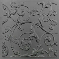 Plastic Mold 3 D Panels Plaster Concrete Cement Stone  Wall Decor Form LOTOS