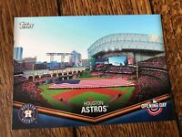 Houston Astros 2018 Topps Opening Day Opening Day at the Ballpark Insert