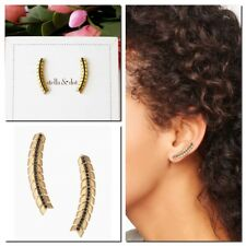 Climbers Authentic Brand New in Box-Gold Stella & Dot Gilded Path Ear