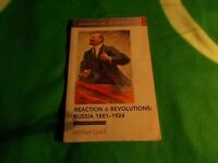 Reaction & Revolutions: Russia 1881-1924 Michael Lynch, Paperback 2000