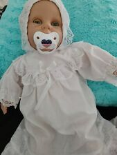 """21"""" Berenguer Baby Doll Blue Eyes Molded Hair Soft Body For Reborn Realistic"""