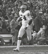 1977 WILLIE BROWN Oakland Raiders FOOTBALL ACTION Glossy Photo 8x10 SUPER BOWL