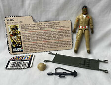 New listing Vintage 1983 G.I. Joe Doc Medic Figure Complete w/ Accessories & File Card