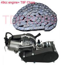 49CC ENGINE w/TRANSMISSION T8F Chain  MINI ATV Dirt BIKE SCOOTER Apollo Orion