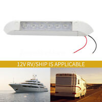 White 12V LED Awning Entry Light Bar Strip Lamp Caravan Boat  Marine Motorhome