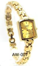 New Citizen Ladies Gold-tone, Gold-dial Dress Watch
