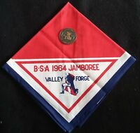 LOT OF ITEMS FROM 1964 NATIONAL JAMBOREE  HELD AT VALLEY FORGE PA