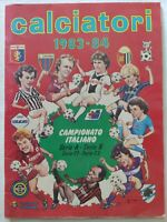 ALBUM CALCIATORI 1983-1984 PANINI QUASI VUOTO FIGURINE OTTIME CONDIZIONI 83-84