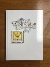 NI NO KUNI WRATH OF THE WHITE WITCH PRIMA OFFICIAL GAME GUIDE HARDCOVER SEALED