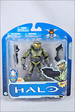 "MCFARLANE Halo Anniversary Series 1 MASTER CHIEF 5"" Action Figure Plaque Spartan"