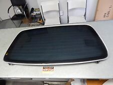 CLK 208 CLK430 CLK320 REAR BACK SOFT TOP CONVT WINDOW GLASS