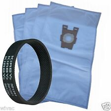 4 Universal Cloth Bags & 1 Belt for Kirby Vacuum F Style Avalir Sentria by DVC