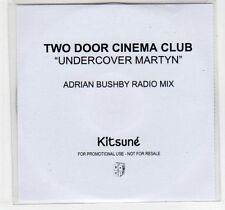(EC866) Two Door Cinema Club, Undercover Martyn - 2011 DJ CD