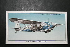Air France  Potez 62 Airliner    Original Vintage Card  # VGC