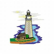 Lighthouses 62 Machine Embroidery Designs on multi-formatted CD 4x4