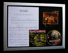 IRON MAIDEN The Trooper LTD CD TOP QUALITY FRAMED DISPLAY+EXPRESS GLOBAL SHIP!!