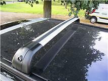 ROOF CROSS RAIL BARS TO FIT DISCOVERY 3 and 4 - SILVER RAILS - YT-DS003-S