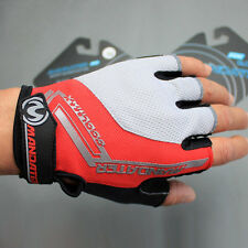 Red New Practical Professional Cycling Bike Bicycle Half Finger Glove S/M/L/XL
