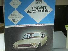 REVUE TECHNIQUE MECA+CARR.PEUGEOT 504 1973/75 10CV ESSENCE / DIESEL