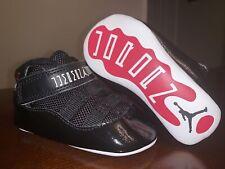 Baby/Infant Jordan 11 Retro Soft Bottom Crib Shoes 'Bred' 378049-010 - Size 3C