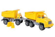 Plasto 52 Cm City Works Truck and Trailer