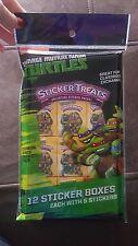 Teenage Mutant Ninja Turtles set of  12 sticker boxes party favors