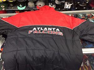 Atlanta Falcons Fan Gear Heavyweight Hooded NFL Reebok Jacket = 2XL