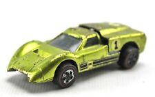 1967 Ford J-Car Antifreeze Green Lime Redline Hot Wheels Diecast USA 1:64