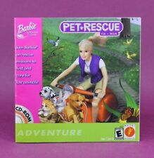 INSTRUCTION BOOKLET/MANUAL ONLY FOR BARBIE PET RESCUE PC GAME 😎OZ SELLER😎