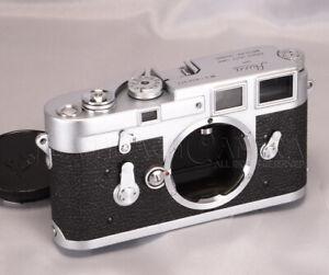 CLEAN Leica M3 Chrome Body Yr.1957 Double stroke Rangefinder WorkingGood #018769