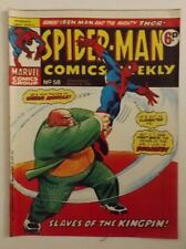 Spider-Man Comic Weekly No.58, week ending March 23rd, 1974