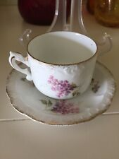 R C Louis XIV Bavaria Carmen Small Tea Cup & Saucer Set X Swords & Crown Anti