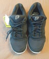 FILA Men's Memory Spear 3K Shoes, Black & White, Size 8, NEW With Box (47% OFF)