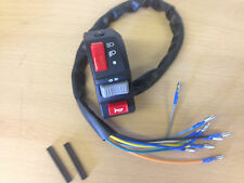 Universal Quad ATV Trike Enduro Left Handler Switch Lights Indicator Horn Switch