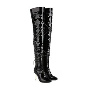 Sexy Over The Knee Thigh High Boots Party Shoes Womens Pointy Toe Stiletto Heels