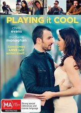 Playing It Cool (Dvd) Comedy, Romance, Chris Evans, Michelle Monaghan