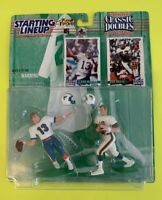 1997 Starting Lineup Classic Doubles Dan Marino Bob Griese Miami Dolphins NEW