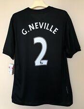 FC MANCHESTER UNITED 20092010 AWAY FOOTBALL JERSEY SOCCER SHIRT #2 G.NEVILLE