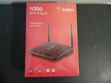 BELKIN N300 Wi-Fi N Router  F9K1007  NEW