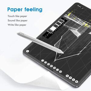 Paper like Screen Protector iPad 12.9/ 10.2/  Pro11/ Air4 10.9 Matte Like paper