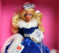1990 Barbie Winter Fantasy Doll Mattel No 5946 Special Limited Edition NOS NRFB