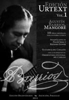 Agustin Barrios URTEXT EDITION: 10 pieces for classical guitar, Paraguay, 2012