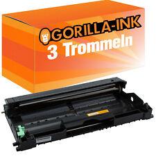 3x Trommel für Brother DR-2000 HL-2050 HL-2070 N HL-2070 NR MFC-7220 N MFC-7240