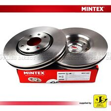 2X MINTEX FRONT BRAKE DISCS PEUGEOT 206/7 307/8 408 1007 2008 3008 5008 VAUXHALL