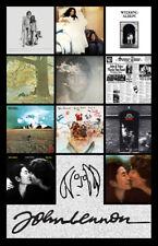 """JOHN LENNON album cover discography magnet (3"""" X 4.5"""") beatles yoko ono"""